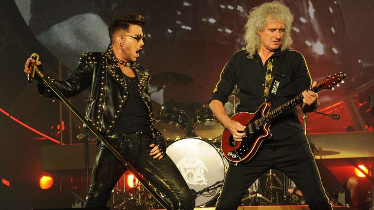 Queen with Adam Lambert.