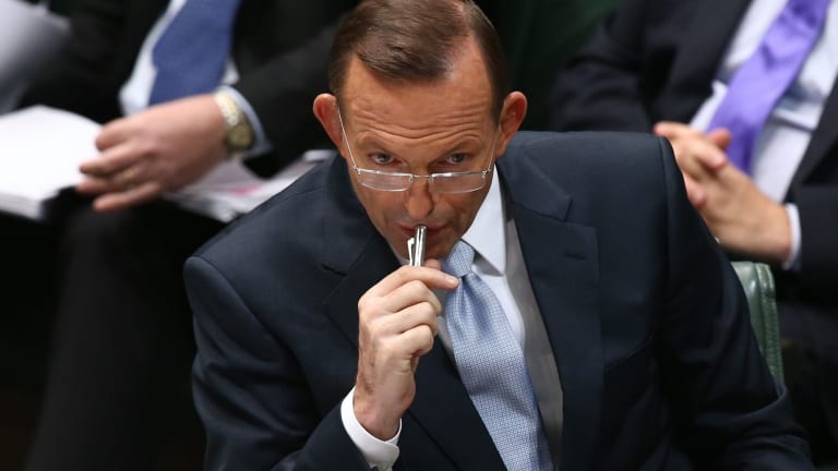 Prime Minister Tony Abbott: Facing a backlash from within his party.