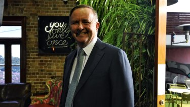 Anthony Albanese stepped up attacks on the government over tax policy.