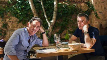 Rob Brydon and Steve Coogan's latest road trip provides ample opportunity for the diners to reignite their war of impersonations.