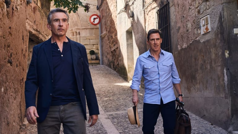 Pains in Spain: Steve Coogan and Rob Brydon on their latest jaunt.