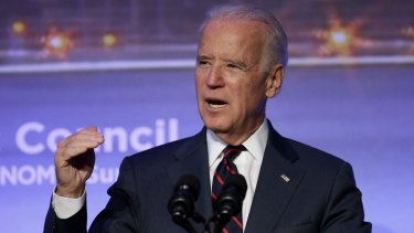 US Vice-President Joe Biden was not home when shots were fired near his home in Delaware on Saturday.