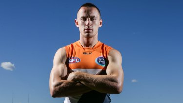 Tom Scully has signed on for another four years at GWS.