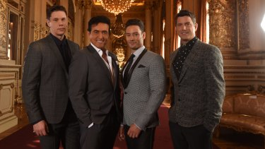 Il Divo – a kind of One Direction for the boomer generation.