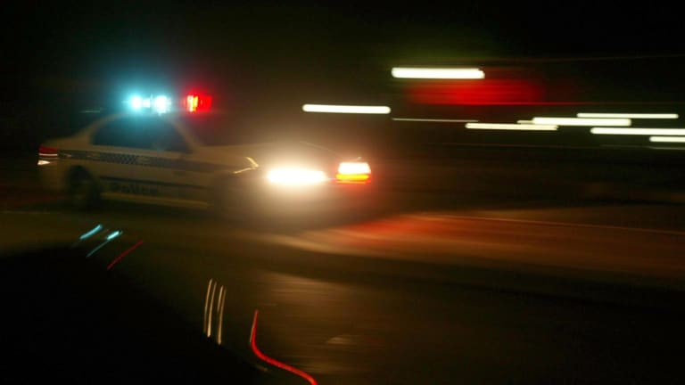 A man has died in a hit-run accident.