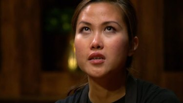 "Diana Chan was ""all waterworks"" by the end of the MasterChef grand final."