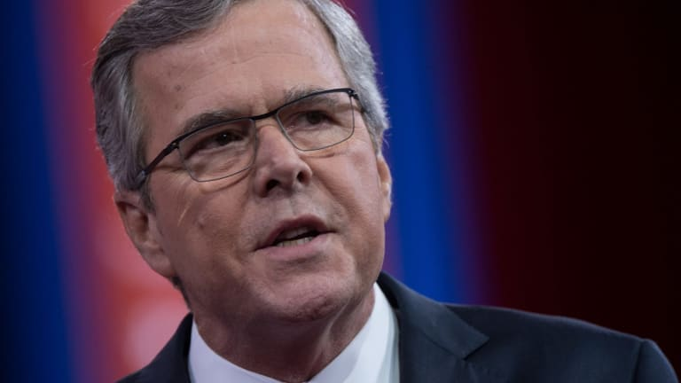 'We will take Washington - the static capital of this dynamic country - out of the business of causing problems' ... US Republican presidential candidate Jeb Bush.