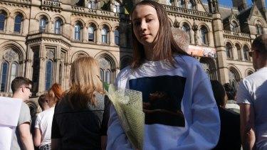 Katrina, a survivor of the Manchester terror attack.