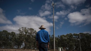 Lower frequencies carry data longer distances, which is great for rural Australia. High frequencies are good for dense city areas.