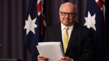 Attorney-General George Brandis famously could not explain 'metadata' as the government began its sell-job on the reform last year.