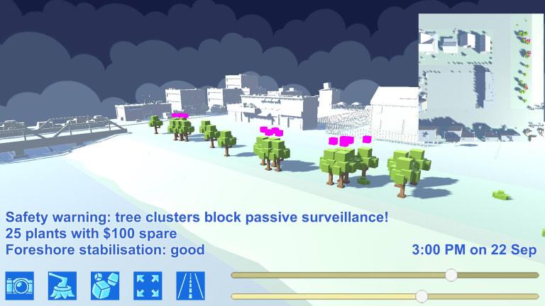 Swinburne University's virtual program for the public to participate in urban planning.