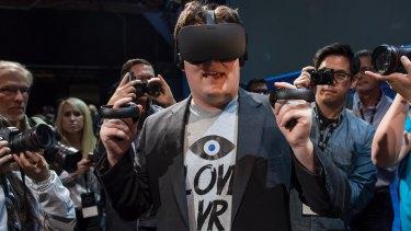 Facebook's Oculus Rift.