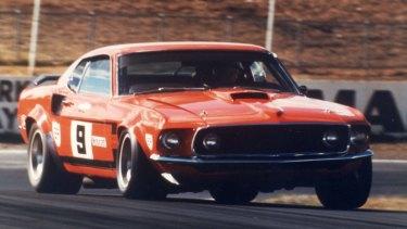 Alan Moffat's Mustang.
