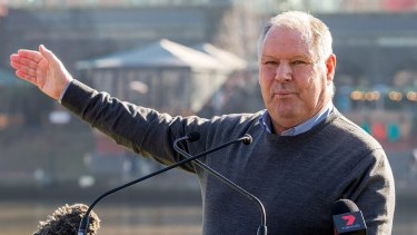 Lord mayor Robert Doyle says he doesn't want to get caught up in expensive legal proceedings.