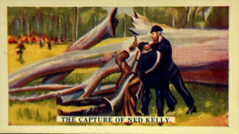 Hoadley's Chocolate Ned Kelly cards.