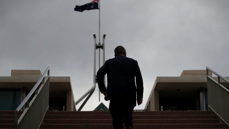 Deputy Prime Minister Barnaby Joyce has his back to the wall.