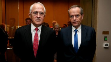 Malcolm Turnbull and Bill Shorten.