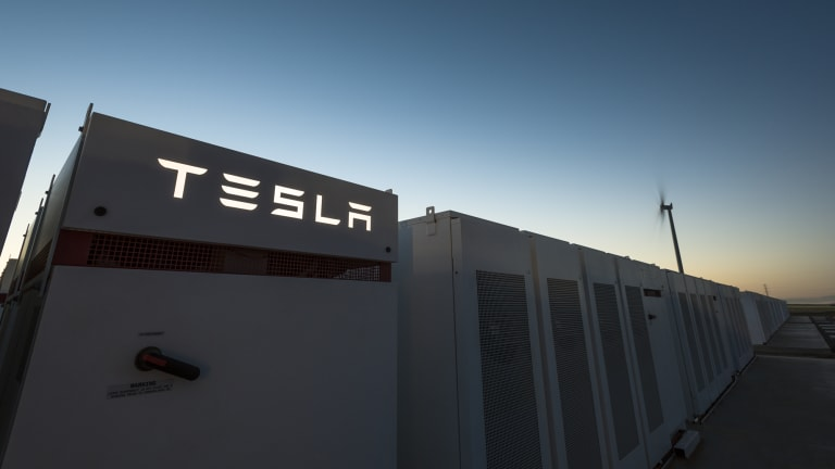 The Tesla batteries can supply power to up to 300,000 homes.