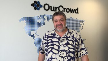 Jon Medved, chief executive of OurCrowd, in Jerusalem.