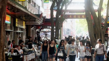 The main walkway in Chinatown, Dixon Street, is an attractive opportunity for investors.