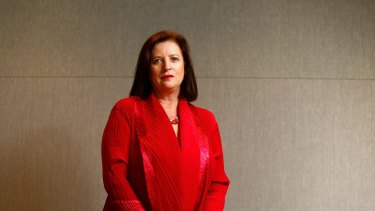 """Telstra chief operating officer Kate McKenzie said Tuesday's fault was caused by """"an embarrassing human error""""."""