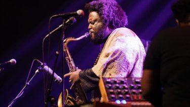 Kamasi Washington took his audience on a long journey.