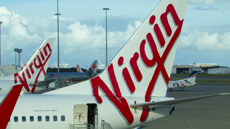 Virgin's long-standing contract with Toll Holdings has ended.