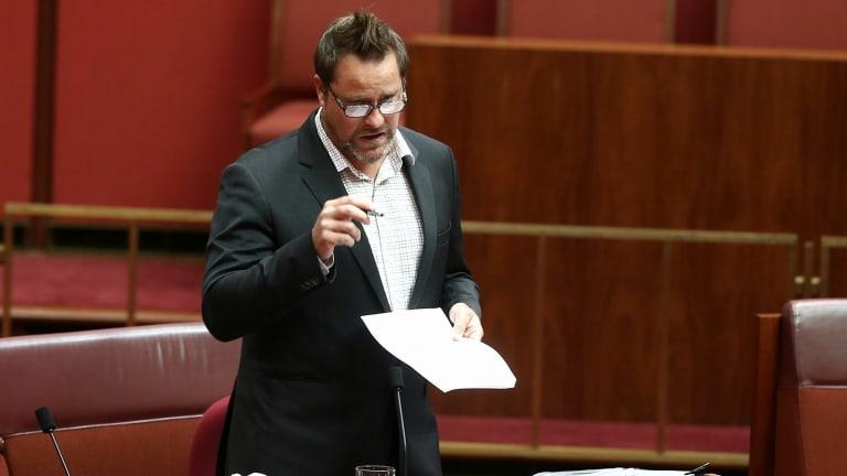 Greens senator Peter Whish-Wilson set up the inquiry into white collar crime.