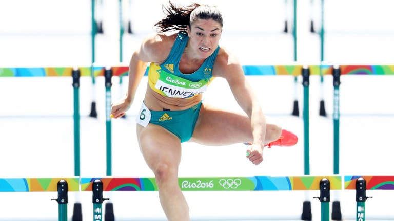 Failed to qualify: Michelle Jenneke.