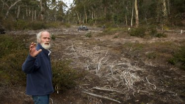 Chris Jonkers of the Lithgow Environment Group says the East Wolgan swamp is among the upland swamps damaged by the Springvale coal mine.