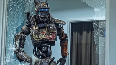 """Robots in films like """"Chappie"""" are capable of great destruction. In real-world contests, state-of-the-art robots struggle simply to remove debris."""