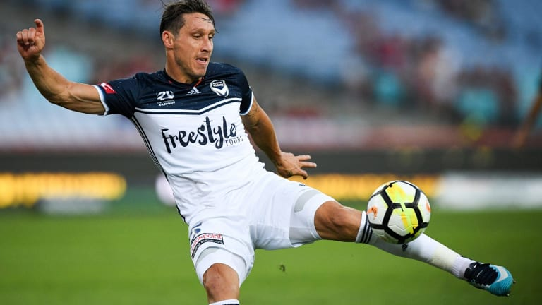 Saudi bound: Mark Milligan is set to join Al-Ahli.