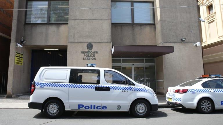 Under scrutiny: Newtown police station