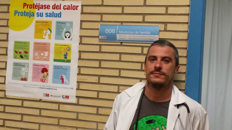 Doctor to the dark web: Spain's Dr Fernando Caudevilla provides online advice about illegal drugs.