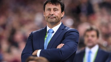 Money talks: A wealthy Blues supporter could help NSW coach Laurie Daley unearth a talented young halfback.
