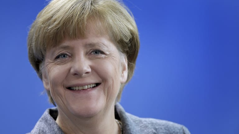 German Chancellor Angela Merkel has thrown open her nation's doors to the refugees.