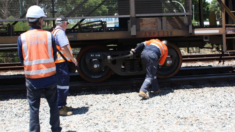 A pain-in-the-a**e': Indian Pacific derails 600m from East Perth Station