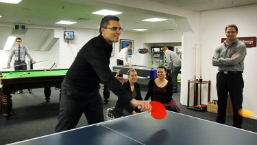 Ping pong tables for your business may be eligible as a tax deduction under the budget small business package.