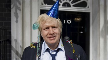 Boris Johnson in 2012.