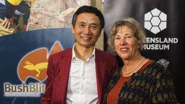 Dr Barbara Baehr and Li Cunxin.