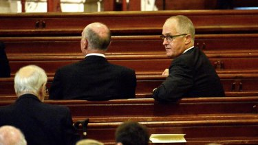 Malcolm Turnbull keeps his position on the church much closer to his chest than did the previous two prime ministers.