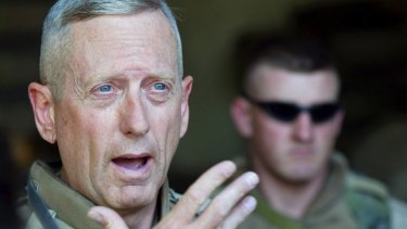 Major General James N. Mattis in Iraq in 2004.