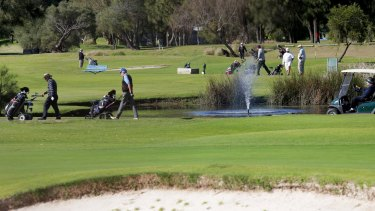 The Kogarah Golf Club has been identified as a possible site for 500 new homes.