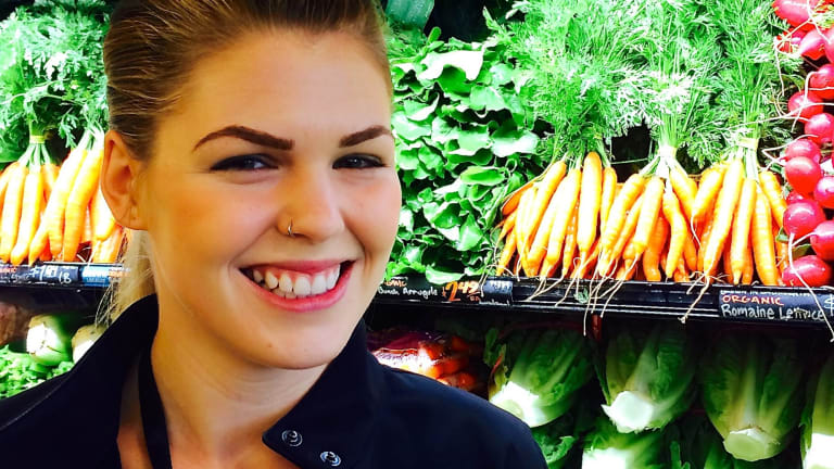 Belle Gibson, creator of the app The Whole Pantry.