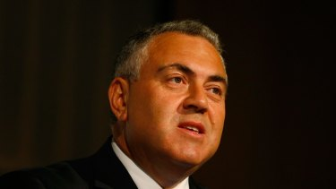 The Treasurer was back in character this week, ready to star in a horror movie cut of the inter-generational report.