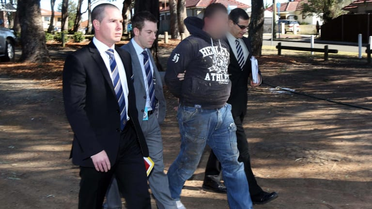 Maximilian Mazzilli was arrested in Wiley Park in 2014 over the murder of Gemahl Maika at Glen Alpine in Sydney's south-west.