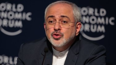 Mohammad Javad Zarif, Iran's foreign secretary, recently visited Australia.