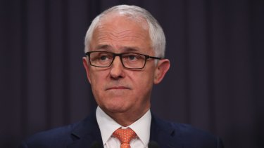 "Malcolm Turnbull responded with platitudes about how this is about ""getting the balance right:."