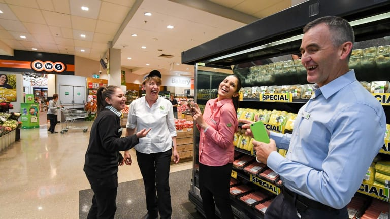 Psychological win even as profit is down: Woolworths chief executive Brad Banducci.
