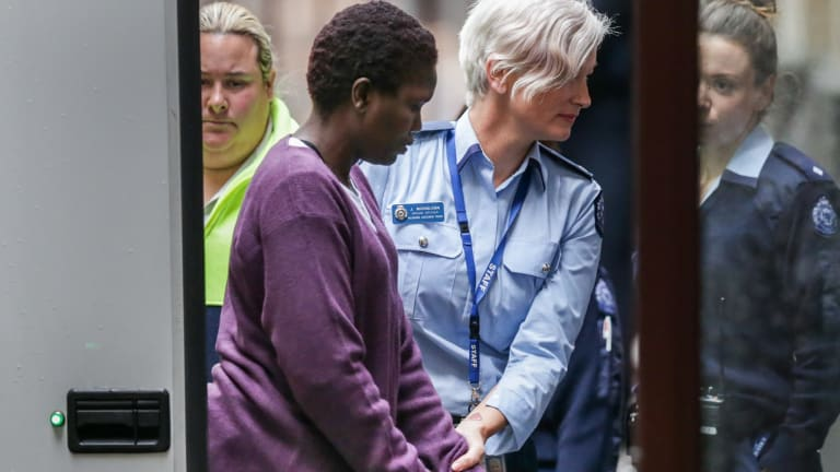 Akon Guode has been sentenced to a minimum of 20 years jail for killing three of her children.